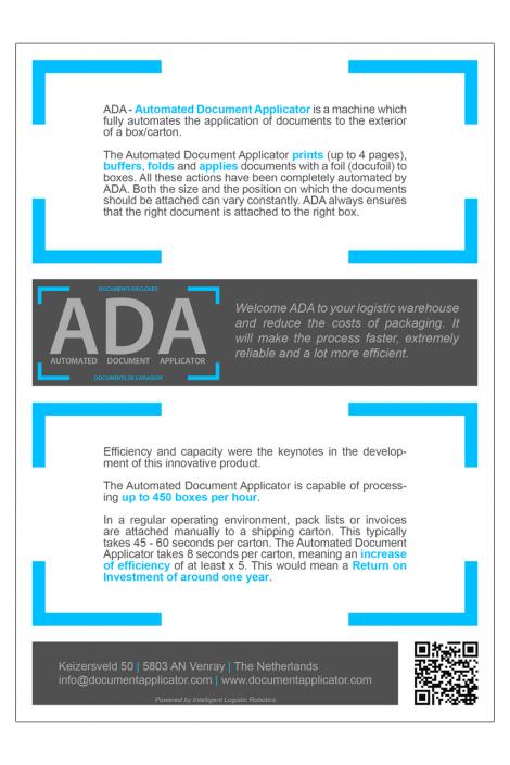 Brochure ADA achterkant