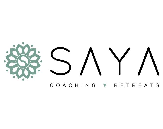 Logo Saya met tagline