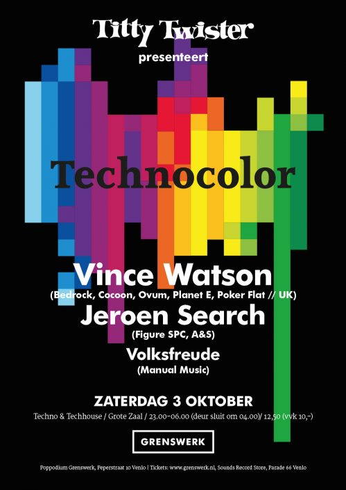 Poster Titty Twister Technocolor