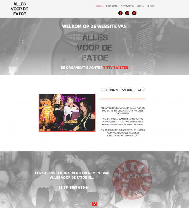 Screenshot website Alles voor de Fatoe