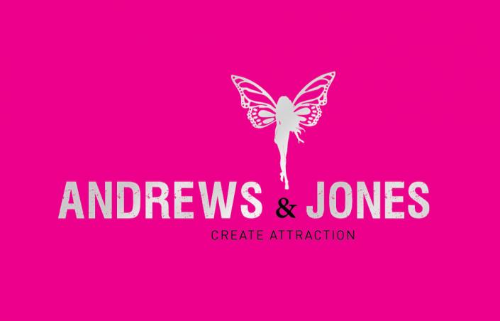 Visitekaartje Andrews & Jones voorkant