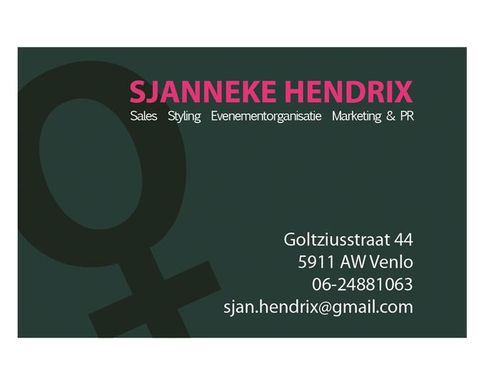 Visitekaartje SHE-QUE achterkant
