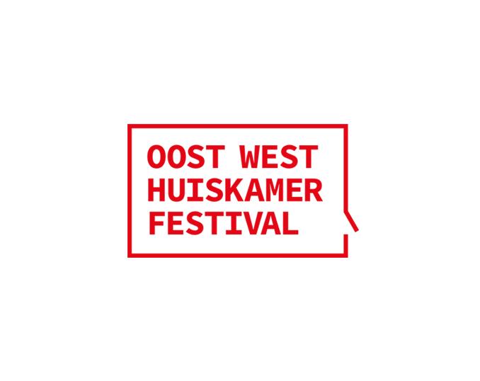 Logo Oost West Huiskamer Festival